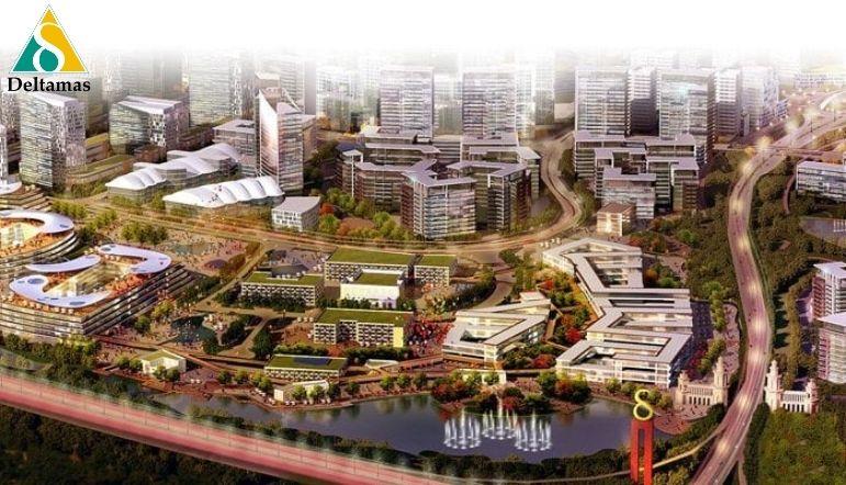 kota deltamas kota modern yang menunjang kebutuhan individu