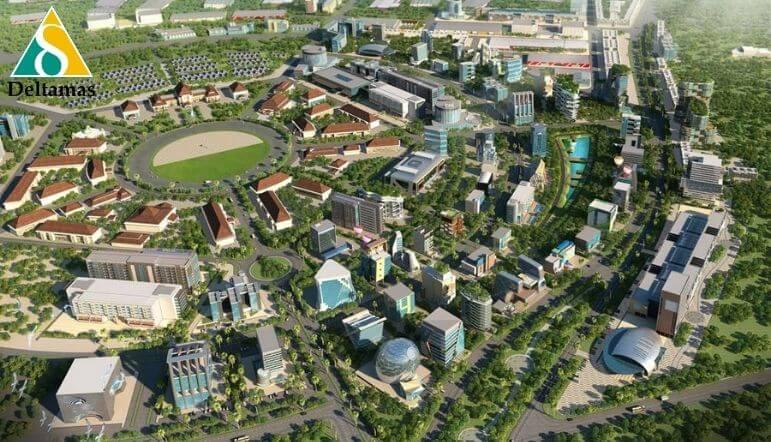alasan kota deltamas cocok disebut kawasan ramah lingkungan
