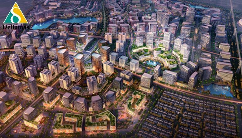 kota deltamas kawasan modern terpadu dengan lokasi strategis